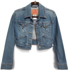 Levi's LEVI STRAUSS Jacket Stretch Cropped